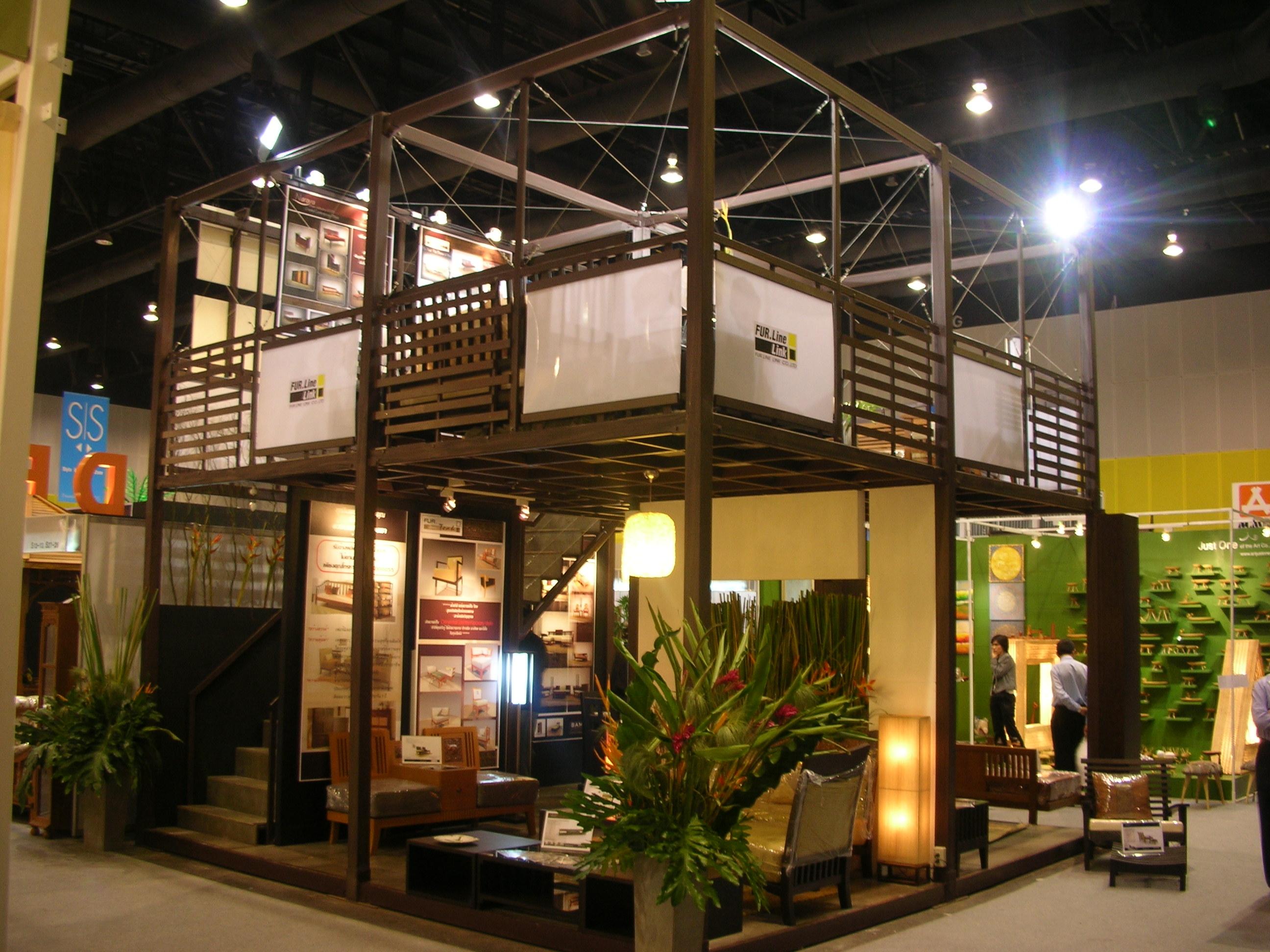 Exhibition Booth Decoration : Exhibition booth decoration design premium serve pir duct for